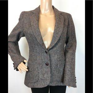 Charter Club Harris Tweed Scottish Wool Blazer 8